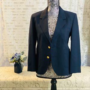 Vintage Christian Dior Blue Jacket Blazer